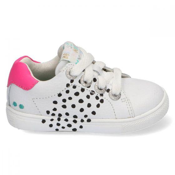 BunniesJR Lucien Louw - 220034 - White/Fluor Pink