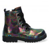 Multicolor biker boots voor meisjes