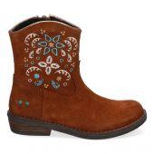 Suède cowboy boots voor meisjes